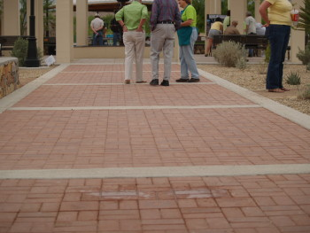 Dedicated Bricks to help raise fund to build the park