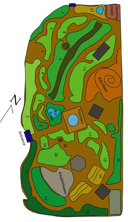 Map of Gardens