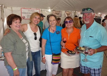 Wine Festival Attendees