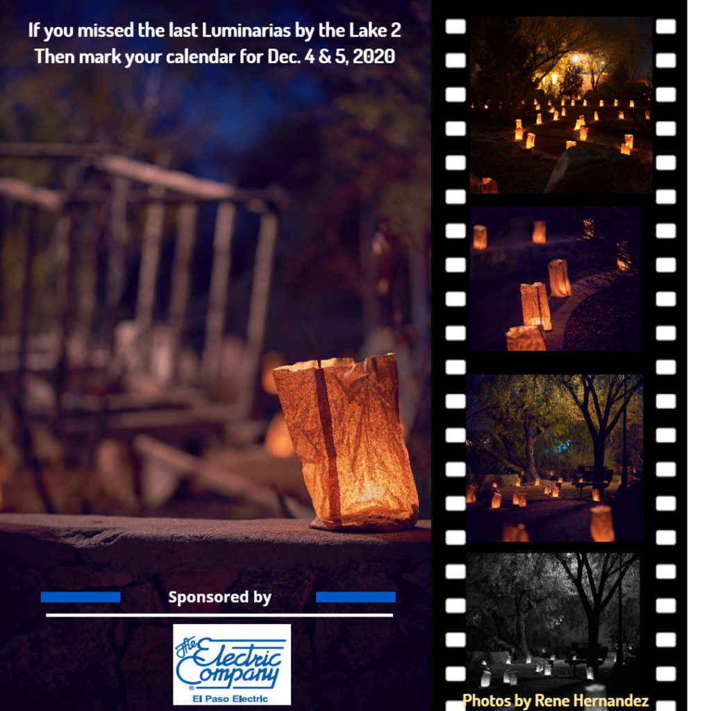 Luminarias by the Lake Preview 2020 Webpage